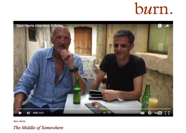 burn grab Arles interview